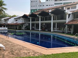 Large swimming pool at Palm Mount Lavinia  Colombo