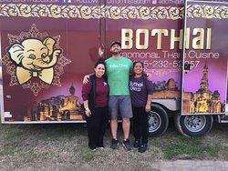The BoThai Food truck rocks good food!