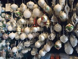 Our white baubles