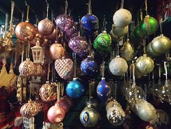 Colourful baubles