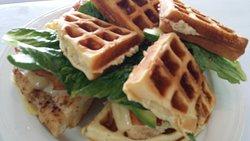 Famouse Waffle Sandwich - Jailhouse Cafe San Clemente - Yummy Tummy