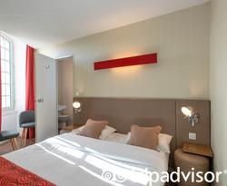 The Double Room at the Coeur de City Hotel Bordeaux Clemenceau by HappyCulture