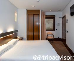 The Double Room at the Hotel Domus Plaza Zocodover