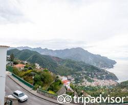 Street at the Hotel La Moresca