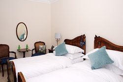 Swallowbeck suite set-up as large twin beds