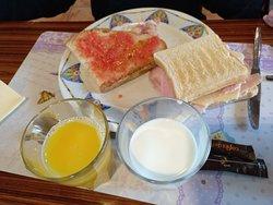 Desayuno.