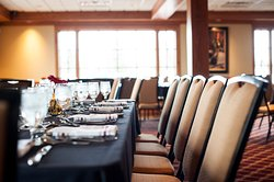 Private Dining for up to 120 guests in our Banquet Room.