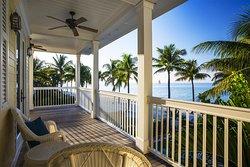 Four bedroom cottage balcony