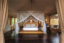 Tented Villa Interior