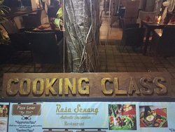 Traditional balinese cooking class..