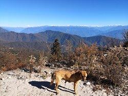 magnificient himalayan panoramic view