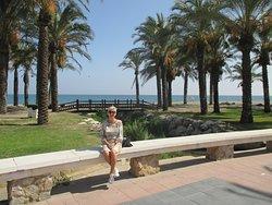 bij het strand