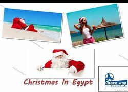 Donn't miss christmas in Egypt with Grace way travel .