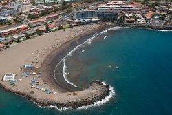 Playa de Las Burras. San Agustín, San Bartolomé de Tirajana. Gran Canaria, Islas Canarias, (ESPAÑA)