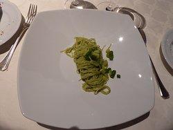 Spaghetti in Pesto