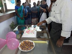 Frist anniversary for Hostess restaurant&residency and good service & good facilities