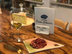 El mejor vino Fino de Jerez con la mejor caña de lomo de bellota D.O. Jabugo