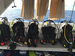 Our gear ready to go.