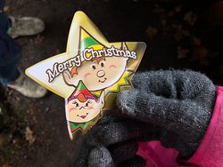 Magic stars from Father Christmas to swap for a beautiful quality Christmas gift