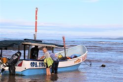 day 1, 8:30 am in Palo Seco, three hours in that boat. where is the ...