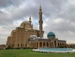 Jalil khayat mosque in Erbil.