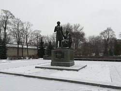 Monument to Alexander Pushkin and Arina Rodionovna