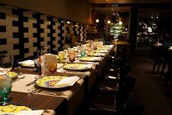 tavola per banchetto