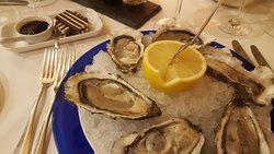 6 Austern #2 ganz frisch aus dem Aquarium 28.-