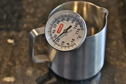 Thermometer to measure water temprature as every tea and coffee demands diff. temprature.