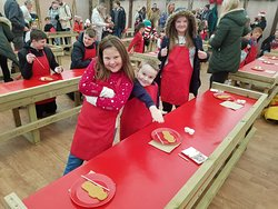 Gingerbread making at Tulley farm