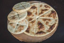 Mchadi - Georgian bread made by corn flour