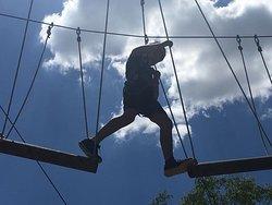 parque de aventura para todas las edades, desde 3 años!