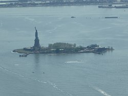What A View From High Above! (The Statue Of Liberty)