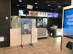 Order & Pick-up counter