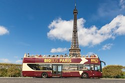Big Bus Paris 巴黎巴士观光游