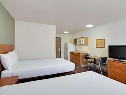 WoodSpring Suites Asheville Extended Stay Hotel Two Bed Studio  x