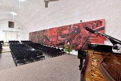 Sala de conciertos.