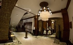 Lobby at Hotel Luna Vigan