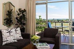 King Spa Suite Living Room