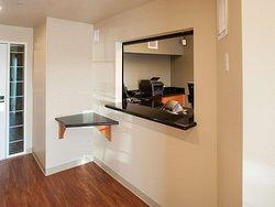Generic WoodSpring Suites Lobby x