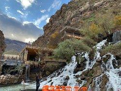 Erbil, Kurdistan, Iraq. Bekhal waterfalls.