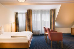 Standard French bed room TOP acora Hotel Bochum