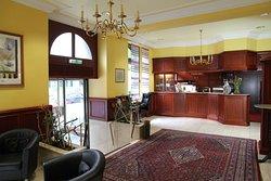 Lobby  TOP Hotel Amberger Wuerzburg