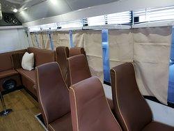 22 Passenger LIMO Bus Interior