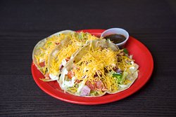 Gringo Tacos... OK, Nothing authentic about them, we have this option for anyone that enjoys the american style tacos...