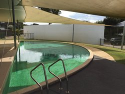 Outdoor pool - this was very cold!