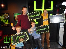 Here's some of our awesome escapee's from Nov 25 - Dec 1 2018. Many failed and succeeded! Try your luck today! #ExitKelowna #kelownaescapegames