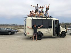 Always a pleasure showing travel students how we live in San Diego!