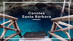 Three crystal blue water cenotes, This experience takes place in a cenote park with great infrastructure for your confort. Steps right into the cenote!