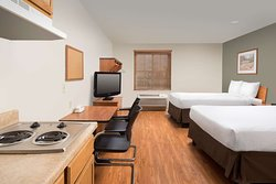 WoodSpring Suites Fayetteville Univ. of Arkansas Extended Stay Hotel Suite with Two Beds